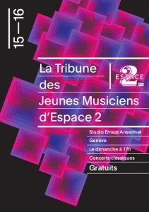 La Tribune des jeunes musiciens - Programme 2015-2016 (PDF)